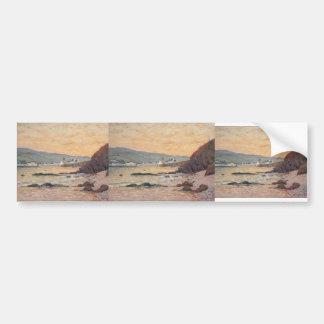 Maxime Maufra- The Village, Morgat Bumper Stickers