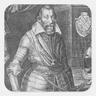 Maximilian I, Elector of Bavaria Square Sticker