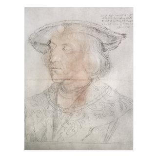 Maximilian I, Emperor of Germany , 1518-19 Postcard