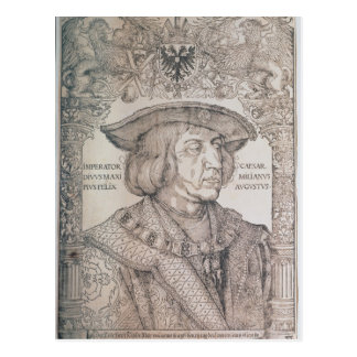 Maximilian I, Emperor of Germany , 1518 Postcard