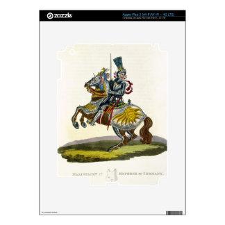 Maximilian I, King of Germany and Holy Roman Emper iPad 3 Decals