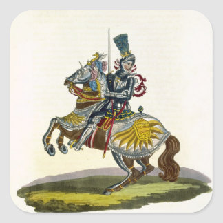 Maximilian I King of Germany and Holy Roman Emper Square Sticker
