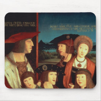Maximilian I  with his first wife Mouse Pad