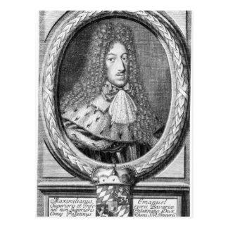 Maximilian II Emanuel Postcard