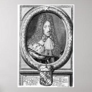 Maximilian II Emanuel Poster