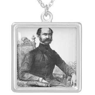 Maximilian II , King of Bavaria Silver Plated Necklace