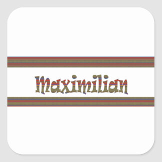MAXIMILIAN Maximilian Gifts, Greetings, LOWPRICE S Square Stickers