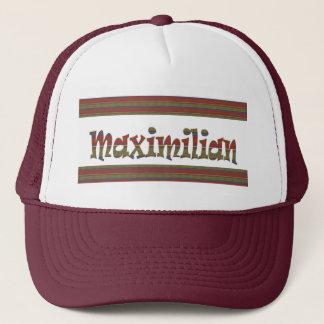 MAXIMILIAN name german fashion border LOWPRICE gif Trucker Hat