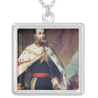 Maximilian of Hapsburg-Lorraine Square Pendant Necklace