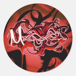 Maximiliano Classic Round Sticker
