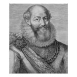 Maximiliano de Bethune, duc de Sully, 1614 Posters