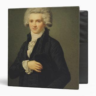 "Maximiliano de Robespierre 1791 Carpeta 1 1/2"""