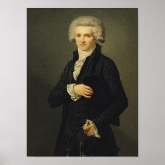 Maximiliano de Robespierre 1791 Póster