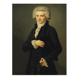 Maximiliano de Robespierre 1791 Postal