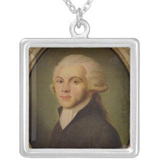 Maximiliano de Robespierre c.1793 Colgante Cuadrado