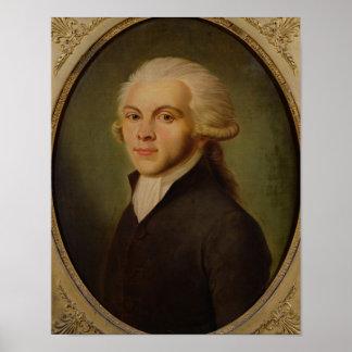 Maximiliano de Robespierre c.1793 Póster