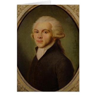 Maximiliano de Robespierre c.1793 Felicitación