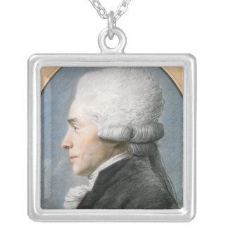 Maximiliano de Robespierre Colgante Cuadrado