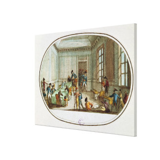 Maximiliano de Robespierre herido Lona Envuelta Para Galerias