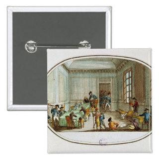 Maximiliano de Robespierre herido Pin