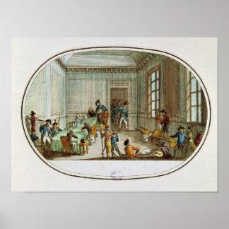 Maximiliano de Robespierre herido Póster
