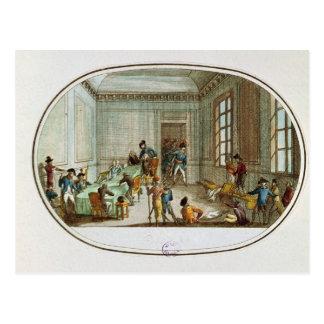 Maximiliano de Robespierre herido Postales