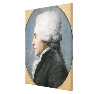 Maximiliano de Robespierre Impresiones En Lona