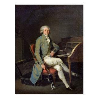 Maximiliano de Robespierre Tarjeta Postal