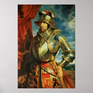 Maximiliano I, 1518 Póster