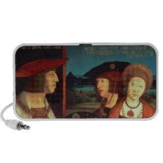Maximiliano I con su primera esposa Altavoces De Viaje
