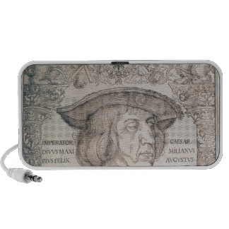 Maximiliano I, emperador de Alemania, 1518 iPhone Altavoz