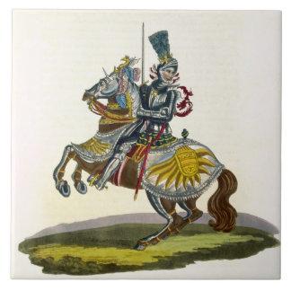 Maximiliano I, rey de Alemania y de Emper romano s Azulejo Cuadrado Grande