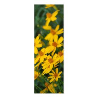 """Maximilian's Sunflower"" Bookmark Business Card Template"