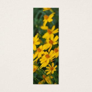 """Maximilian's Sunflower"" Bookmark Mini Business Card"