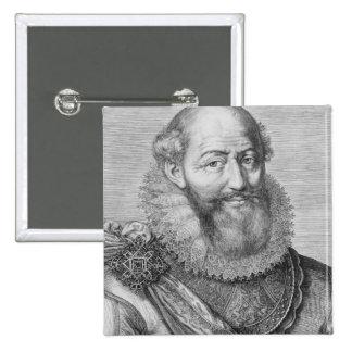 Maximilien de Bethune, duc de Sully, 1614 Pinback Buttons