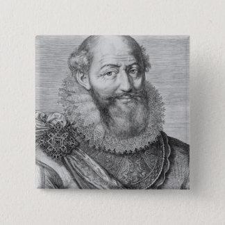 Maximilien de Bethune, duc de Sully, 1614 Pinback Button