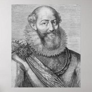 Maximilien de Bethune, duc de Sully, 1614 Print