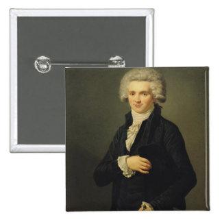 Maximilien de Robespierre  1791 Pinback Button