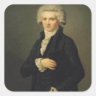 Maximilien de Robespierre  1791 Square Sticker