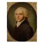 Maximilien de Robespierre  c.1793 Postcard