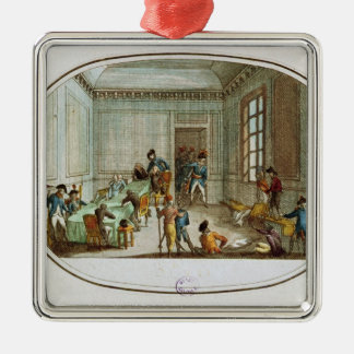 Maximilien de Robespierre  injured Metal Ornament