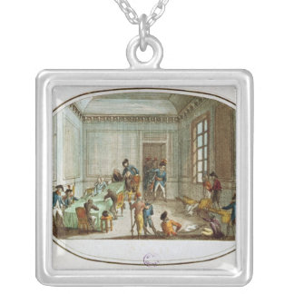 Maximilien de Robespierre  injured Silver Plated Necklace