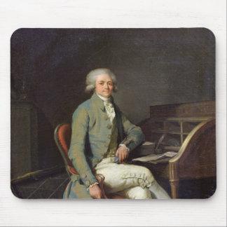 Maximilien de Robespierre Mouse Pad