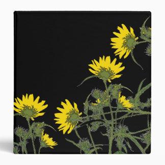 Maximillian Sunflowers Art Avery Binder