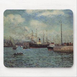 Máximo Maufra- el puerto de Havre Tapete De Ratón