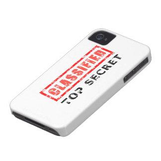 Máximo secreto clasificado iPhone 4 Case-Mate cárcasas