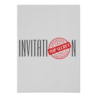Máximo secreto de la invitación