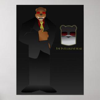 Maximus el oso inteligente póster