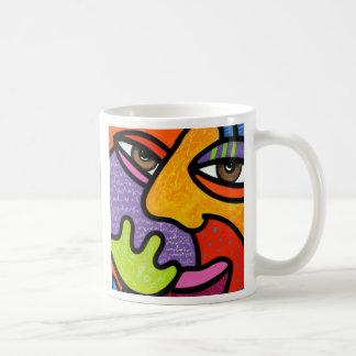 """Maxine"" Classic White Coffee Mug"
