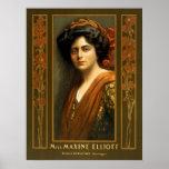 Maxine Elliott, circa 1900 Impresiones